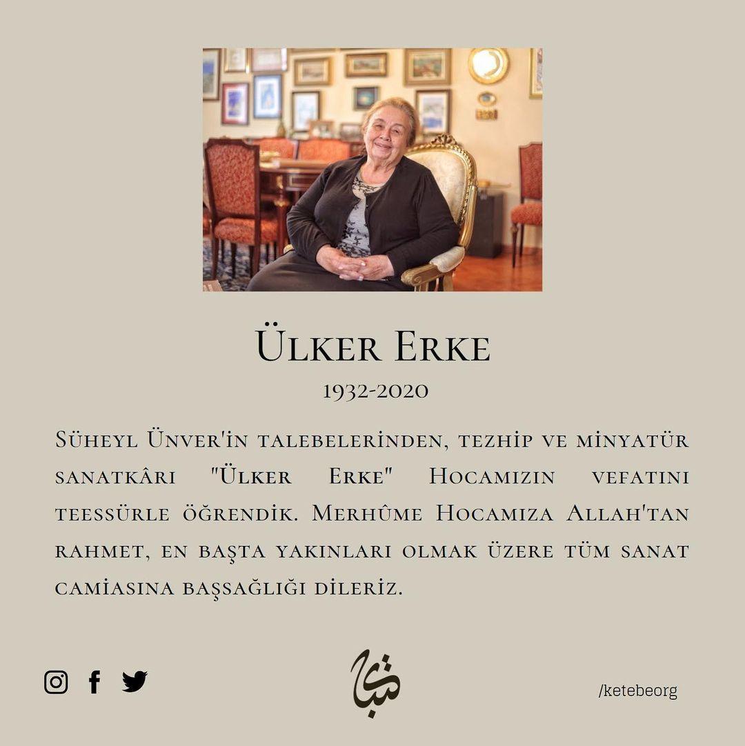 Apk Website For Arabic Calligraphy Ülker Erke Hocamıza Allah'tan rahmet, yakınlarına başsağlığı dileriz.... 308 1