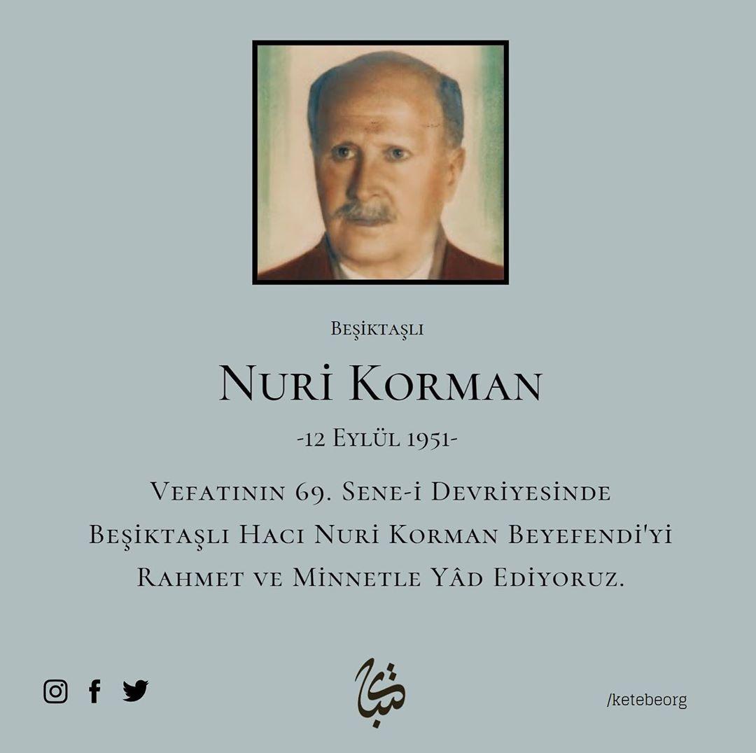 Apk Website For Arabic Calligraphy Vefatının 69. sene-i devriyesinde Beşiktaşlı Hattat Hacı Nuri Korman Beyefendi'y... 238 1