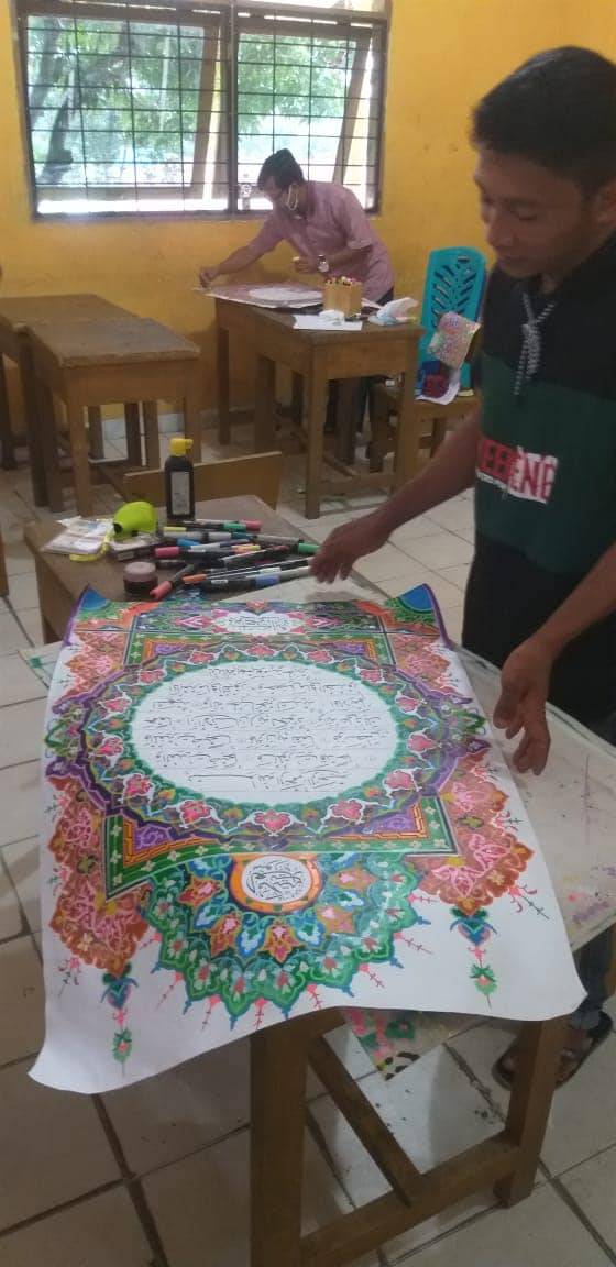 Download Beberapa karya mushaf MTQ Kabupaten Pelalawan  Noted : poto diambil dari bebera... 2