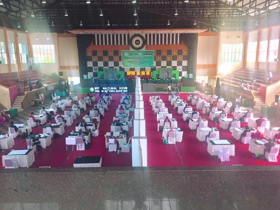 Download Suasana lomba Kaligrafi MTQ Nasional di Sumatera Barat Tahun 2020 2