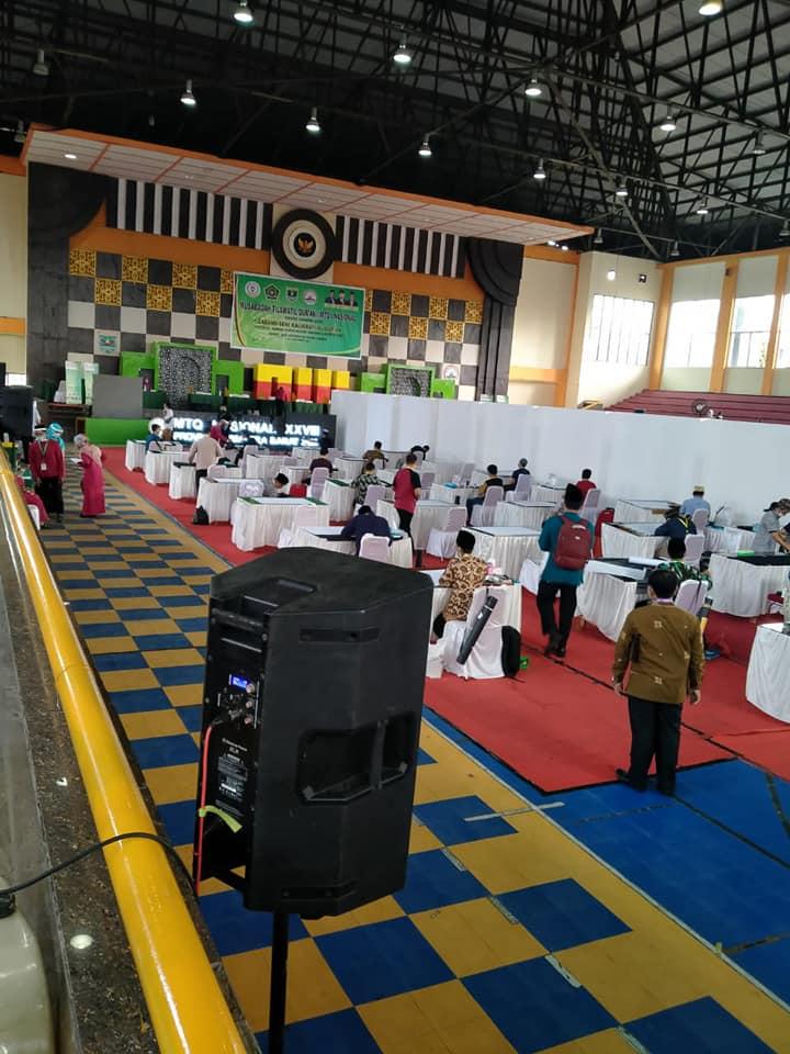 Download Suasana lomba Kaligrafi MTQ Nasional di Sumatera Barat Tahun 2020 4