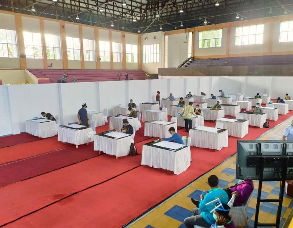 Download Suasana lomba Kaligrafi MTQ Nasional di Sumatera Barat Tahun 2020 1