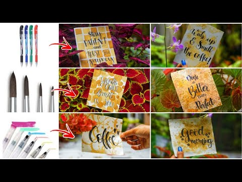 Download Video ആർക്കും Easy ആയി ഇനി CALLIGRAPHY ചെയ്യാം|How to write in calligraphy cards| PART-1DayDreamer Merin