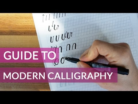 Download Video Beginners Guide to Modern Calligraphy