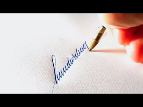 Download Video Oddly Satisfying Video Compilation (Handwriting with a Ballpoint Pen)