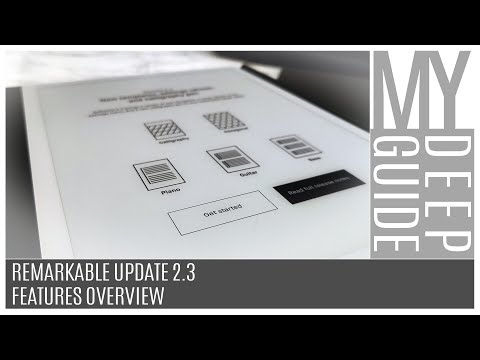 Download Video Remarkable Update 2.3: Features Overview (Calligraphy Pen + New Templates)