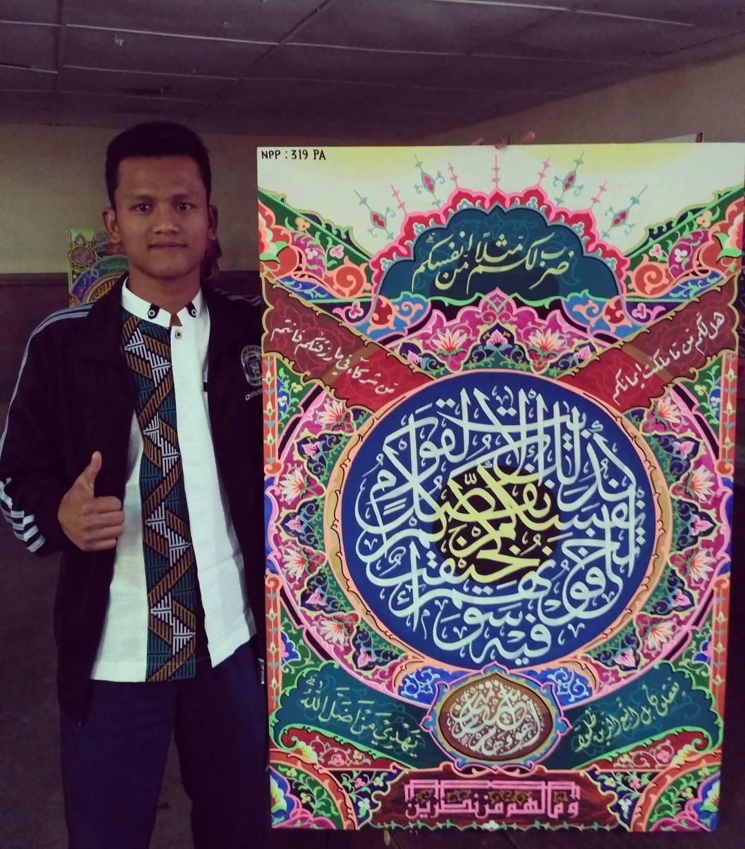 Works Calligraphy Taufik Hasibuan Hasil penyisihan mtqn sumut 2017 … 183