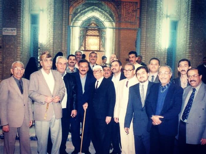 khat/hat/kat Tsulust/Thuluth Mothana Alobaydi مع الجيل الذهبي بغداد… 254
