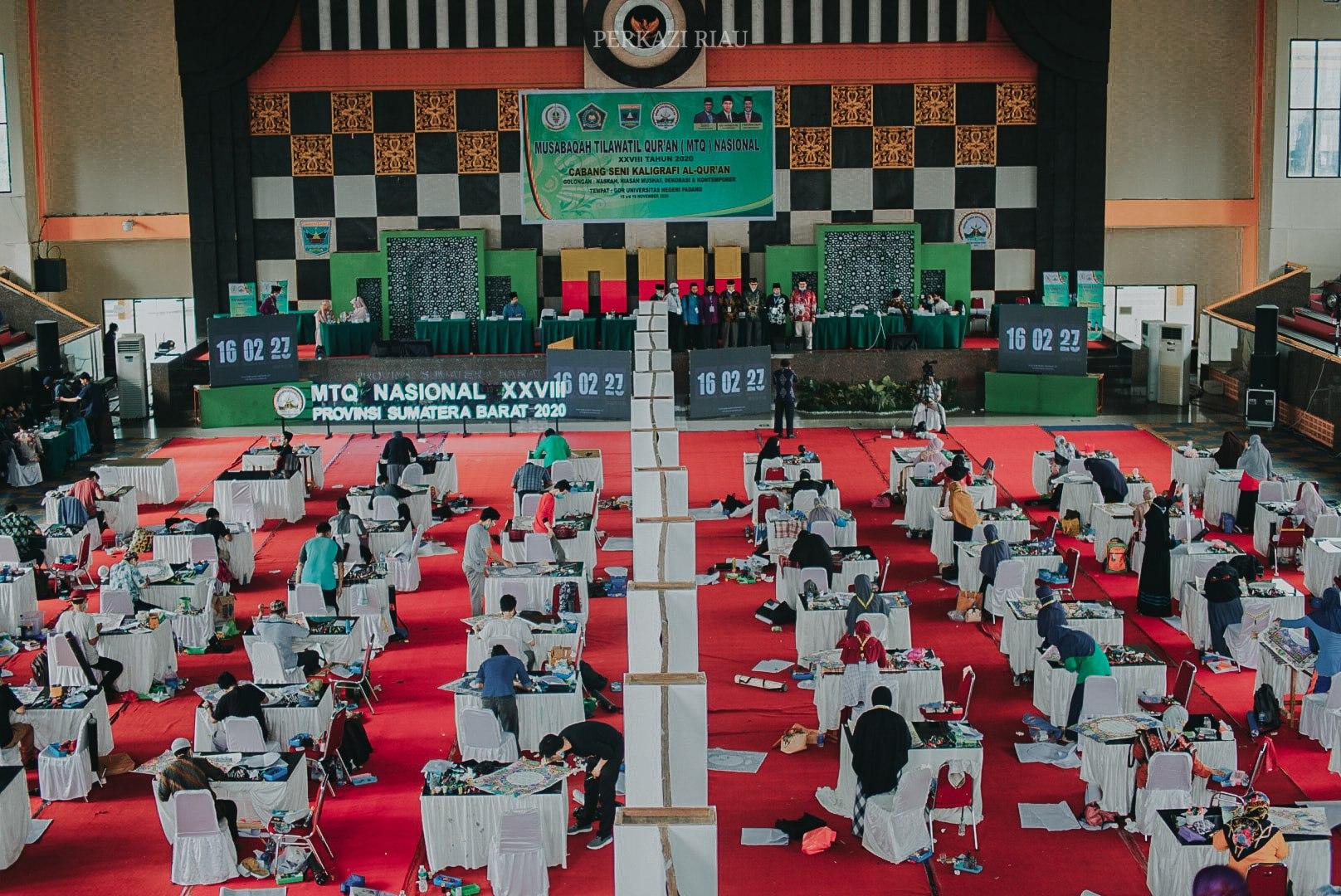 Download POTRET BABAK PENYISIHAN CABANG HIASAN MUSHAF HARI INI, WALAUPUN PARA PESERTA SEM... 3
