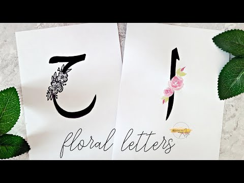 Download Video ARABIC CALLIGRAPHY with double pencils for beginners | Arabic Alphabet | Floral Letters (Easy)
