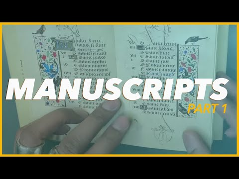 Download Video CALLIGRAPHY MANUSCRIPTS THAT CHANGED THE LIFE OF PAUL ANTONIO PART 1