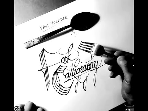 Download Video Fork Calligraphy