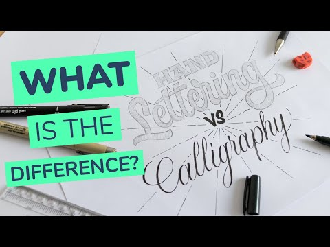 Download Video Hand Lettering vs. Calligraphy – What Is The Difference? (2020)