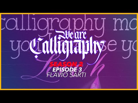 Download Video Satisfying Modern Copperplate Calligraphy | WAC S2