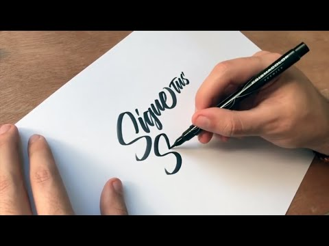 Download Video Writing Calligraphy with a Brush Pen | We Are Calligraphy Episode 6 | Calligraphy Masters