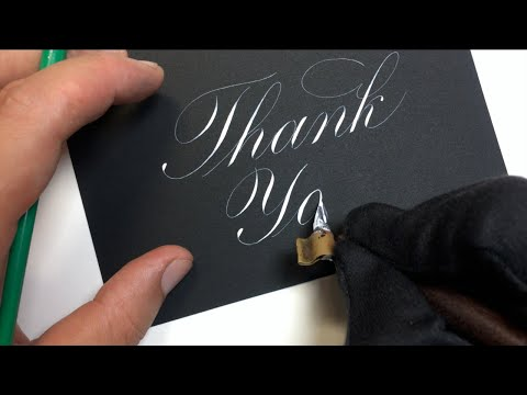 Download Video Writing Copperplate Calligraphy | We Are Calligraphy Episode 11 | Calligraphy Masters
