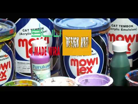 Download Video seni lukis dinding Dasar Laut pakai cat  MOWILEX