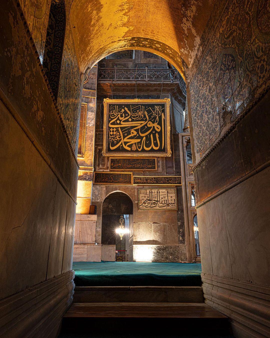 Donwload Photo Kaligrafi Bir kısmı aynı zamanda bizzat hattat olan Osmanlı sultanları hat sanatını ve hat…- Mhmd Ozcay
