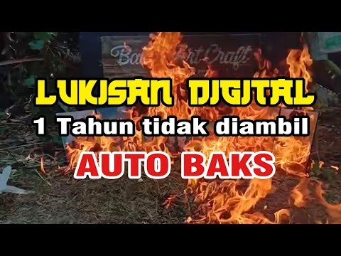 Download Video AKHIRNYA DIBAKAR (lUKISAN DIGITAL VECTOR)