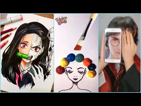 Download Video Amazing Art Skill Talented People 💕Creative Ideas at Another Level! Drawing! Calligraphy! Lettering