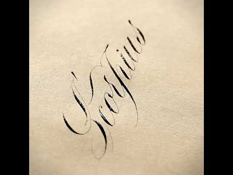 Download Video Calligraphy | 'Scorpius' | Tri Le