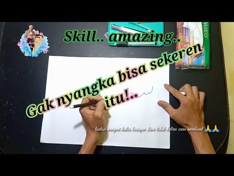 Download Video Cara membuat kaligrafi lafad subhanallah ,bagi yang pemula cukup dengan menggunakan satu pensi saja