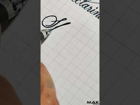 Download Video Fountain pen Calligraphy