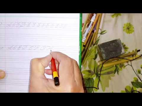 Download Video How to write CALLIGRAPHY with ANY PEN ✍️   Step by Step Tutorial Top Skill   Gulzar Ahmad