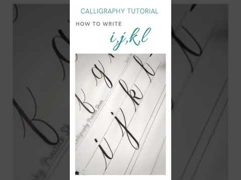 Download Video How to write with brush pen | Beginners Calligraphy #shortsv #calligraphytutorial