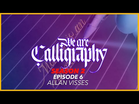 Download Video Satisfying Copperplate Calligraphy with a Ballpoint Pen | WAC S2