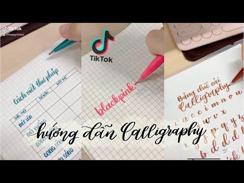 Download Video Engsub | Tổng Hợp TikTok | Hướng Dẫn Viết Thư Pháp Hiện Đại – Calligraphy Quick Tutorials | Hidari