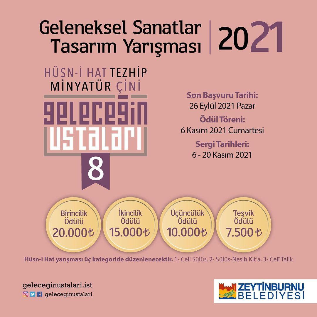"""geleceginustalari Zeytinburnu Belediyesi """"Geleceğin Ustaları Geleneksel Sanatlar Tasarım Yarışma… 160"""