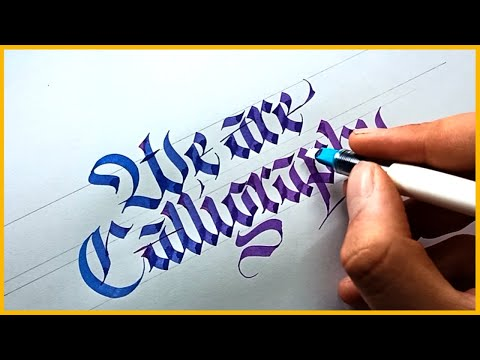 Download Video 9 Calligraphers Who Take Lettering To The Next LEVEL | Calligraphy Masters 2021