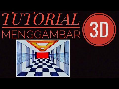Download Video CARA MENGGAMBAR 3D OPTICAL DI KERTAS