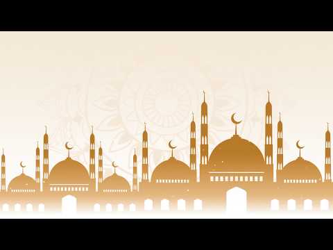 Download Video Free Masjid animation and ornaments background