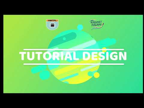 Download Video Pelatihan Tutorial Design -Bid. Medinfo Kabinet Madani