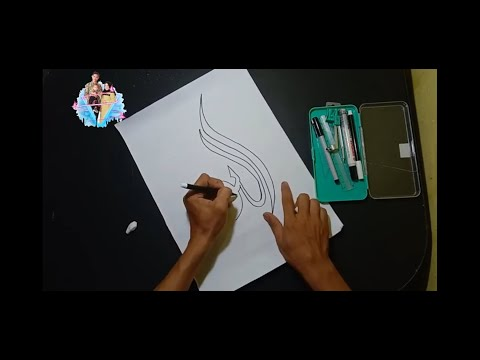 Download Video how to write calligraphy 3d lafadz at taqwa