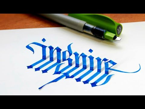 Download Video 9 Calligraphers Who Take Lettering To The Next Level   Calligraphy Masters