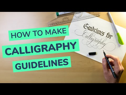 Download Video How To Make & Use Calligraphy Guidelines (2021)