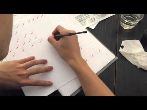 Download Video How to write Spencerian capitals – Calligraphy by Hoang