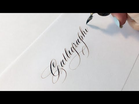 Download Video Writing Copperplate Calligraphy   We Are Calligraphy Episode 14   Calligraphy Masters