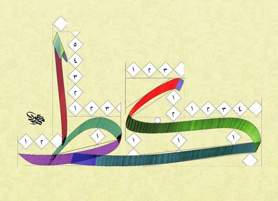 Download Kaidah Kaligrafi dan Karya Naskhi Tsulust …-alkhattatmasud