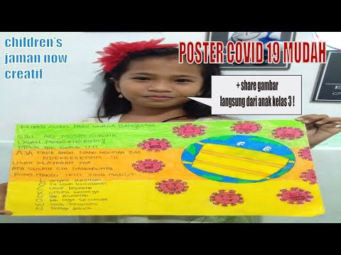 Download Video POSTER COVID 19 MUDAH | KELAS 3