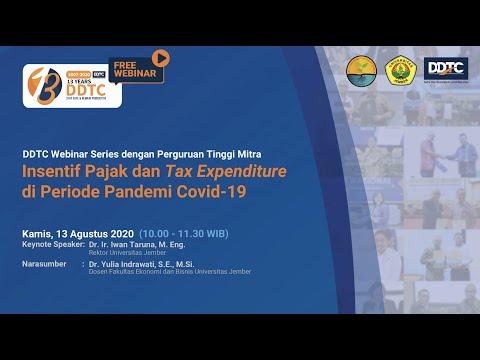 Download Video Webinar Series – Insentif Pajak dan Tax Expenditure di Periode Pandemi Covid-19