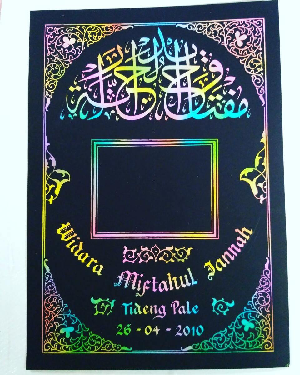 Works Calligraphy Taufik Hasibuan Silah kn d chat bg yg minat.. … 45