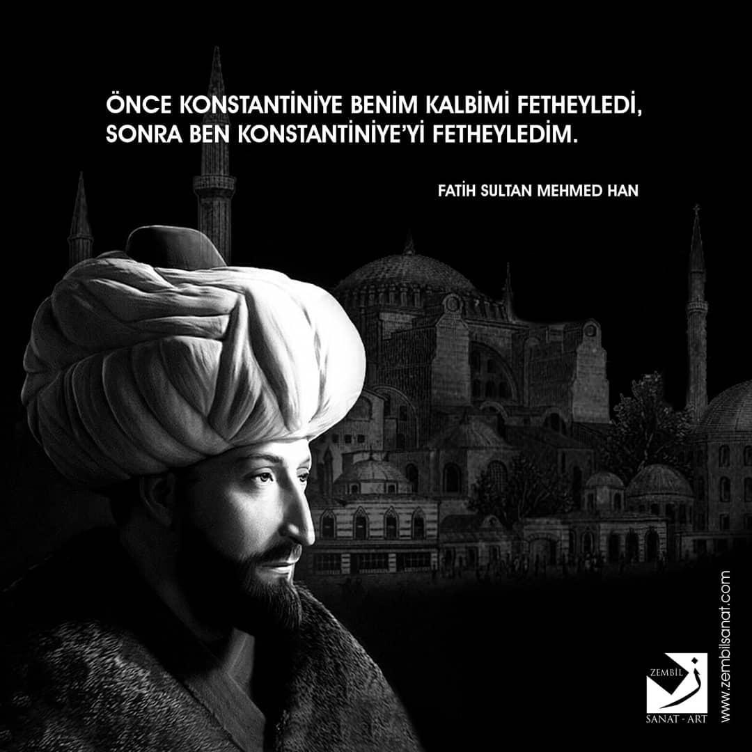 Donwload Photo İstanbul'un fethinin 568. yılında bu kadim şehri bizlere miras bırakan Ebu'l-Fet…- Zembil Sanat