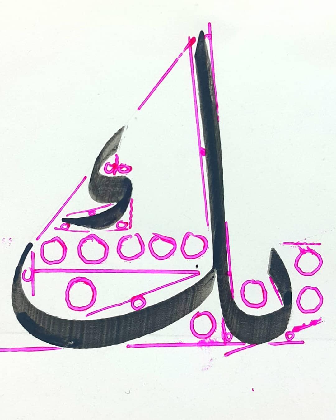 Download Gambar Naskhi Ehab Ibrahim Gaya Turky 2.5.ملم…