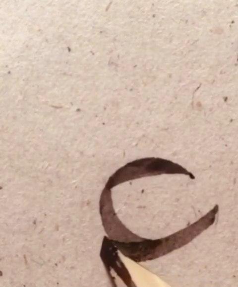 Download Photo Kaligrafi یه اجرای زیبا از یکی از سخت ترین اتصالات ثلث بدون هیچ ابزاری از قبیل میز نور و ا…- Vahedi Masoud