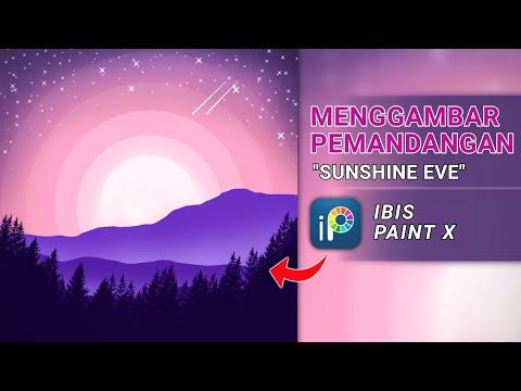 Download Video Ibis Paint X Tutorial Menggambar Ilustrasi Pemandangan – How To Draw Illustration On Ibis Paint X