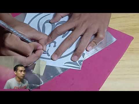 Download Video KERAJINAN SENI KALIGRAFI  TIMBUL DENGAN BAHAN ALUMINIUM